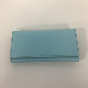 Halogen Light Blue Wallet Tri-fold